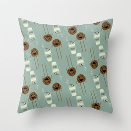 COFFEE & COOKIE Throw Pillow
