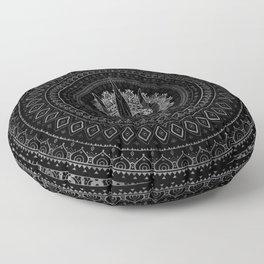 Trisula  -Trident of Shiva Floor Pillow