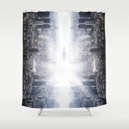 The Drop Shower Curtain