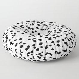 Dalmat-b&w-Animal print I Floor Pillow
