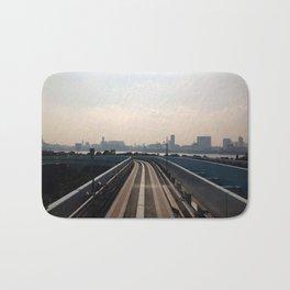 Railway Skies Bath Mat