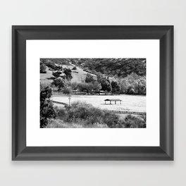 Horse Ranch Framed Art Print