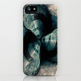 Shells in a row iPhone Case