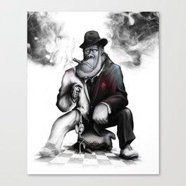 """Gorilla in a Suit"" Canvas Print"