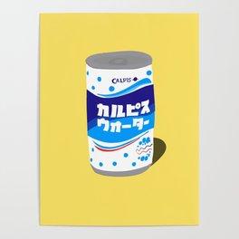 Calpis can Poster