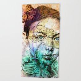Fae Beach Towel