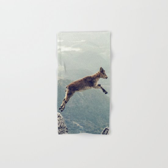 Mountain Goat Hand & Bath Towel