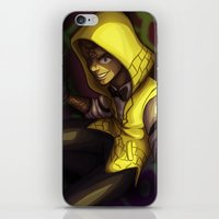 bill cipher iPhone & iPod Skins featuring Human Bill Cipher by NMLove