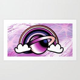 Space Queers: Gender Fluid Art Print