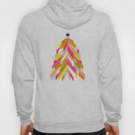 Rainbow Christmas Tree Hoody