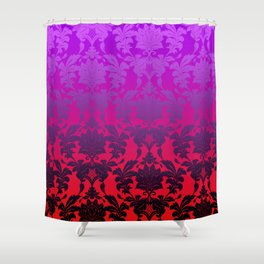 Ombre Damask2 Shower Curtain