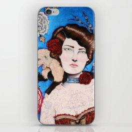 Augusta -- The Tattooed Lady iPhone Skin