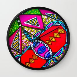 Acidweb Wall Clock