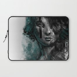 Ink and Color girl Laptop Sleeve