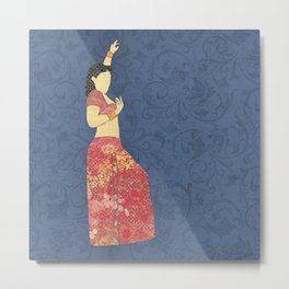 Belly dancer 5 Metal Print