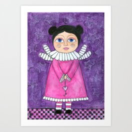 My little angel Art Print