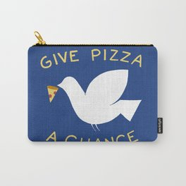War & Pizza Carry-All Pouch