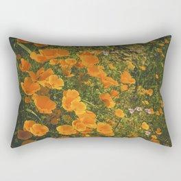 California Poppies 004 Rectangular Pillow