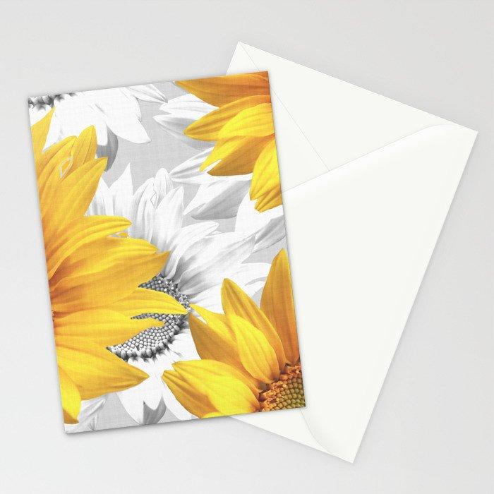 Sunflower Bouquet #decor #society6 #buyart Stationery Cards