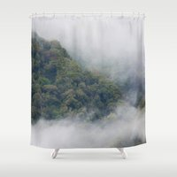 fog Shower Curtains featuring Fog by Michelle McConnell