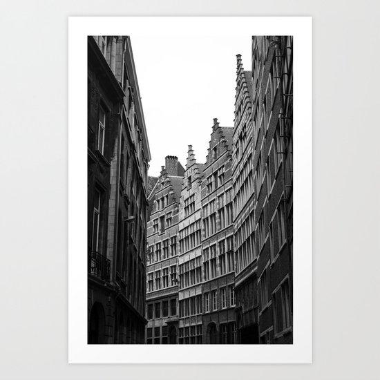 Antwerp Art Print