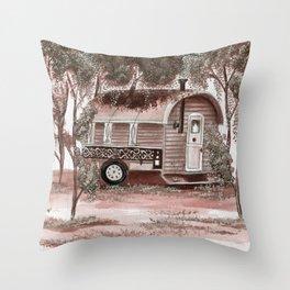 Caravan Freedom Throw Pillow