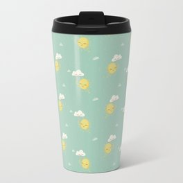 Little Sun green Travel Mug