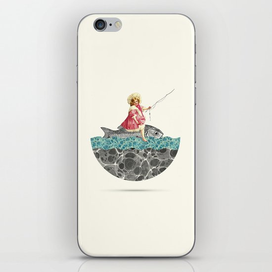 Gone fishing iPhone & iPod Skin