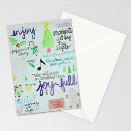 Christmas Manifesto Stationery Cards