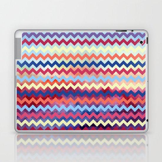 Watercolor Chevron II Laptop & iPad Skin