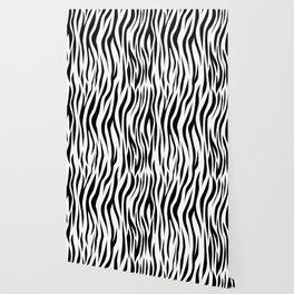 Zebra skin pattern design Wallpaper