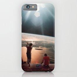 Golfers In Space iPhone Case