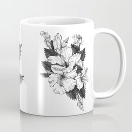 The Chinese Rose & The Tree Frog Coffee Mug