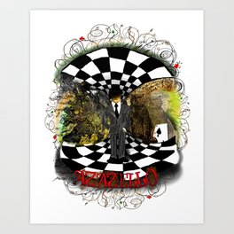 Azazello (Master and Margarita) Art Print