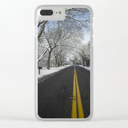 West Tiana Winter Clear iPhone Case