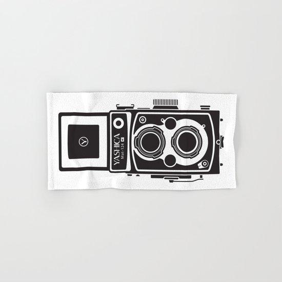 Yashica MAT 124G Camera Hand & Bath Towel