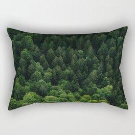 Swiss forest Rectangular Pillow