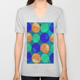 Circle of Colors 2 Unisex V-Neck
