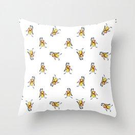 Scarecrows Pattern Design Throw Pillow