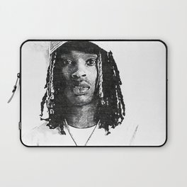 King Von - Dayvon Daquan Bennett - Rap - Drill Chicago Music - O-Block Society6 Sketch Art 66122 Laptop Sleeve