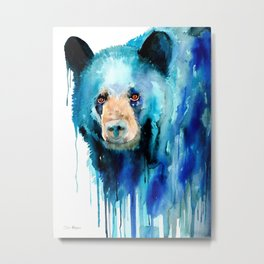 American black bear Metal Print