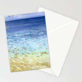 I look at the sea and I dream Stationery Cards