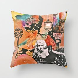 Free Spirit (V.2) Throw Pillow
