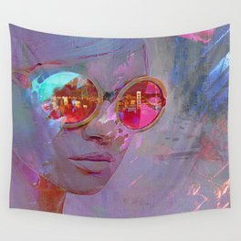 who's that girl Wall Tapestry