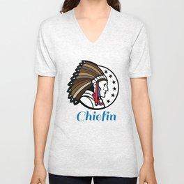 Chiefin Unisex V-Neck