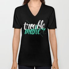 Troublemaker Unisex V-Neck