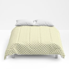 Badger Forest Friends All Over Repeat Pattern on Lemon Yellow Comforters