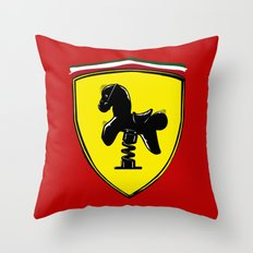 Ferrari cute Throw Pillow