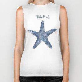 Starfish Tide Pool habitat Biker Tank