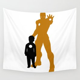 Future Iron Man Wall Tapestry